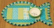 June Tailor Quilt As You Go Pet Placemat-Cat 28cm x 46cm