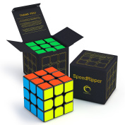 Creativeline SpeedRipper Speed Cube - 3x3 - Perfect for Competitions, Suitable for Adults & Kids, Best Magic Puzzle Toy, . Rubiks Cube - Turns Quicker and More Precisely Than Original