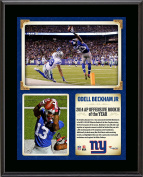 Odell Beckham Jr New York Giants 2014 NFL Offensive Rookie of the Year 27cm x 33cm Sublimated Plaque - Fanatics Authentic Certified
