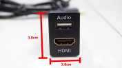 TOYOTA HILUX NEW FORTUNER 2012-17USB AUDIO WITH HDMI SOCKET