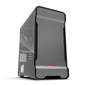 Phanteks Enthoo EVOLV Micro Tower mATX Case Tempered Glass (No PSU) - Anthracite Gray, Full