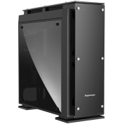 Segotep Raynor Tower T5 Glass Full Tower Case with 7 x 12CM RGB Fan Front (No PSU) - Black Front USB