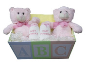 Twin Girls Gift ABC Box