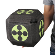 Popshot(TM) 18-Sided 3D Archery Target Self Healing Foam Cube Block Shooting Targets Recurve Compound Hunting Practise