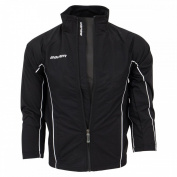 Bauer Youth Warm Up Jacket, Black X-Small