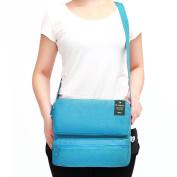 Shoulder Bags for Men and Women, Tezoo Large Capacity Side Bag Messenger Cross Body Bag Multi Pockets Ipad Bag Passport Bag Travel Outdoor Casual Multifunctional