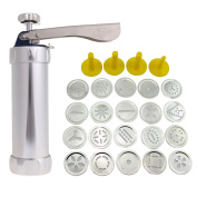 Cookie Cutter Baking Tools Cookie Biscuits Press Machine Kitchen Tool Bakeware With 20 Cookie Molds and 4 Nozzles