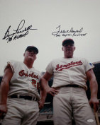 Boog Powell/Frank Howard Autographed 16x20 Photo with Inscriptions- JSA W Authenticated