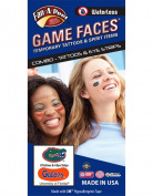 University of Florida (UF) Gators – Waterless Peel & Stick Temporary Tattoos – 12-Piece Combo