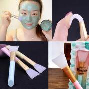 Facial Mask Brush,SMYTShop Face Mud Mask Mixing Brush Cosmetic Makeup Brush Silicone Facial Applicator,Hairless Silicone Brush,Facial Mask for Applying Facial Mask,Eye Mask,Peel,Serum or DIY Needs