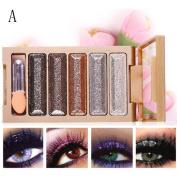 Pulison(TM) Shimmer Glitter Eye Shadow Powder Palette Matte Eyeshadow Cosmetic Makeup