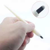 5pcs/pack Disposable Microblading Manual Pen With Needle Permanent Makeup 18 U Blades