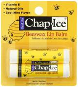 Beeswax Lip Balm 4 sticks - Contains Vitamin E and Natural Oils