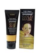 Gold Mask 24k Gold Collagen Peel Off Deep Cleansing Anti-Wrinkle Moisturising Facial Mask Pore-Clogging Dirt Acne Remover Regulating Excess Oil Firming Up Skin 120 ml / 4.0 Fl. Oz.