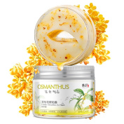 Eye Mask HUBEE Gold Osmanthus Collagen Gel Eye Zone Pad Patches Mask Wrinkle Care Remove Dark Circles Eye Bags