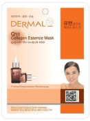 10 pc Q10 Collagen Essence Facial Mask Sheet by Dermal Korea…