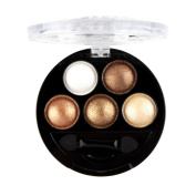 Showking Professional Baked Eye Shadow Palettes Metallic Eyeshadow Palette