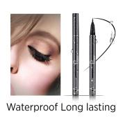 Precise Liquid Eyeliner,Waterproof High Seal Eyeliner Pen, Black,