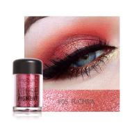 YJYdada Focallure Shimmer Eye Shadow, Makeup Pearl Metallic Eyeshadow Palette Single Baked Eyeshadow