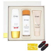 Ohui Sun Pro Red SPF50+/PA+++ Special Set , Sun Cream Cleanser, Miracle Moisture Cleansing foam