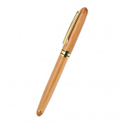 1pc Calligraphy Art Fountain Pen Handcrafted Bamboo Chisel-pointed Nib Writing Gothic Arabic Italic Pen