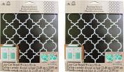 FolkArt Handmade Charlotte Laser Stencils, 4377 Moroccan Tile