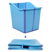 Foldable Baby Bath Tub for Toddlers Enable Water to Chest Deep