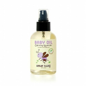 Little Twig Lavender Baby Oil, Lavender 120ml by Little Twig
