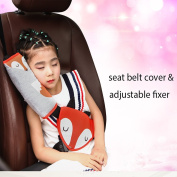 Car Seat Belt Covers Seatbelt Pillow for Kids Soft Cute Vehicle Safety Strap Cushion Auto Seat Belt Cushion Children Baby Adult
