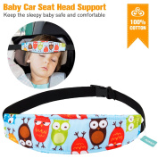 Infants and Baby Car Seat Head Support, Adjustable Playpens Sleep Positioner Fastening Belt for Pram Stroller Safety Seat Fastening Belt, Offers Protection and Safety for Kids