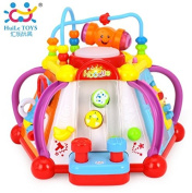 Baby Toy Musical Activity Cube Play Centre Toy with 15 Functions & Skills Learning Educational Toys for Children