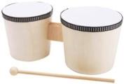 Wood Instrument-Bongo Drums