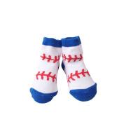 TRIEtree Baby Socks Cartoon Sports Pattern Jacquard Anti Slip Child Socks Warm Cold Cotton Socks Newborn Supplies