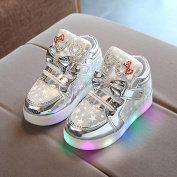 Baby Casual Colourful Light Shoes, Franterd Toddler Fashion Star Luminous Bling Bling Sneakers
