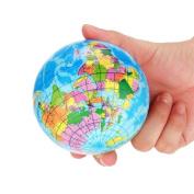 Planet Earth Ball, Littleice Stress Relief World Map Foam Ball Atlas Globe Palm Ball