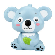 Newest 12cm Cute Koala Cream Scented Squishy Toy Slow Rising Squeeze Strap Kid Toy