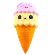 Glorrt Exquisite Fun Ice Cream Scented Squishy Charm Slow Rising Simulation Kid Toy