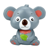 YRD TECH New 12cm Cute Koala Cream Scented Squishy Toy Slow Rising Squeeze Strap Kid Toy Gift