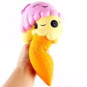 Littleice Exquisite Fun Ice Cream Scented Squishy Charm Slow Rising Simulation Kid Toy
