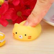 Yoyorule Cute Mini Mochi Squishy Cat Squeeze Healing Fun Kids Kawaii Toy Stress Reliever Slow Rising Hand Wrist Toy