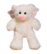 Baby ANGEL Bear - Recordable Voice or ultrasound heartbeat Stuffed 20cm teddy bear