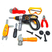 Toy Tool Set For Boys Pretend Play Construction Tools Drill And More