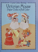 Dover VICTORIAN MOUSE PAPER DOLLS Book (UNCUT) in Full colour w 4 Card Stock DOLLS & COSTUMES & Accessories by Crystal Collins-Sterling