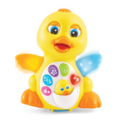 Animated Interactive Yellow Duck 18 Month Infant Baby Toy