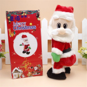 Musical Toy Gift for Decor - Santa Claus Music Toy Doll Christmas/ Decoration Holiday/Party Ornament