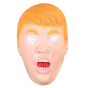 AW President Donald Trump Celebrity Latex Mask Face Costume Cosplay Halloween Party