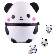 Elibeauty Squeeze Toys, Kawaii Panda Slow Rising Squishy Toy for Stress Relief 1PC