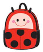 Schoolbag for Little Kid Toddler Preschool Insulated Water-Resistant Lunch Bag Backpack