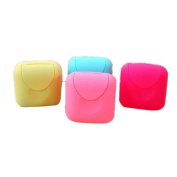 Home Bathroom Plastic Soap Case Holder New Bathroom Dish Plate Case Home Shower Travel Hiking Holder Container Soap Box by Faber3