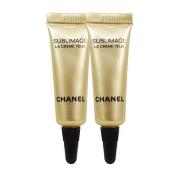 Chanel SUBLIMAGE LA CRÈME YEUX ULTIMATE REGENERATION EYE CREAM travel size 3ml x 2